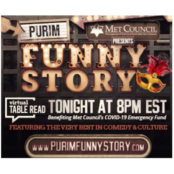 Met Council Presents! Purim: Funny Story Featuring Howie Mandel, Bob Saget, Russel Peters & More