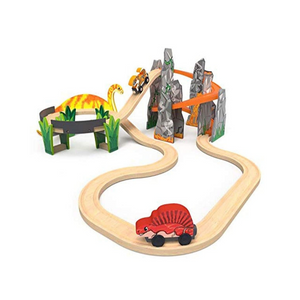 KidKraft Adventure Tracks Dinosaur World Volcano Escape