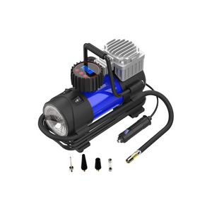 12V DC Portable Air Compressor with Pressure Gauge