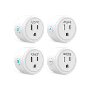 Set Of 4 Gosund WiFi Smart Plugs