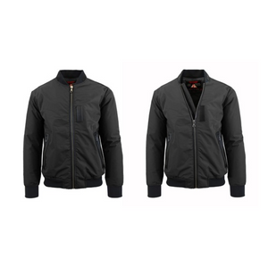 Spire by Galaxy Men's Aviator Flight Bomber Jackets (4 Styles)