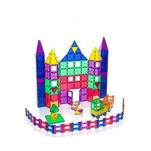 150 Piece Playmags Magnetic Building Set