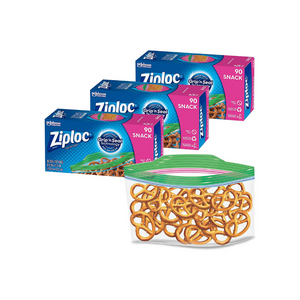 270 Ziploc Snack Bags with New Grip 'n Seal Technology