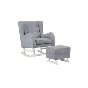 Baby Lounge Chair Rocker, Gray