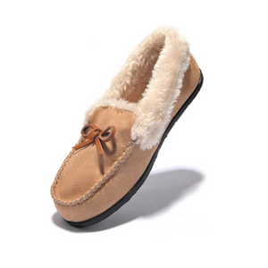 Women's Slip-On Moccasin Slippers (5 Colors)
