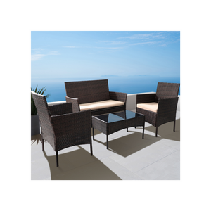 4 Piece Outdoor Patio Furniture Set