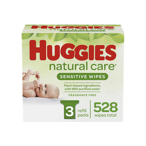 528 Huggies Natural Care Sensitive Baby Wipes