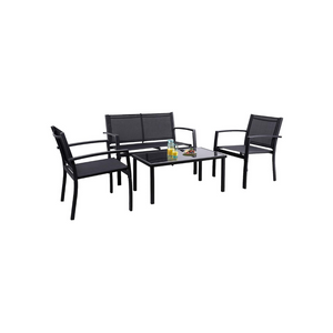 4 Piece Patio Outdoor Furniture