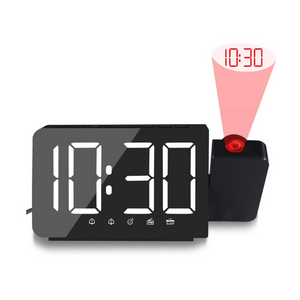 Large Digital Projection Alarm Clock