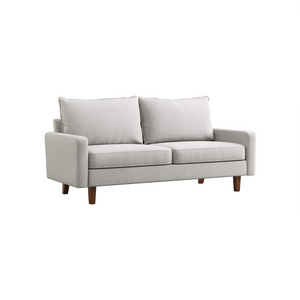 Couch with Solid Wood Frame