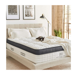 Brentwood Home Hybrid Innerspring, Cooling Gel Memory Foam Twin XL Mattress