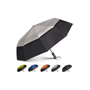 Large Windproof Double Canopy Umbrella