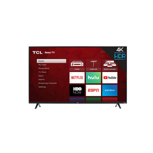 "TCL 43"" Class 4K UHD LED Smart Roku TV"