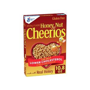 Box Of Honey Nut Cheerios Cereal