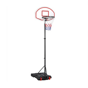 Height Adjustable Portable Basketball Hoop With Wheels