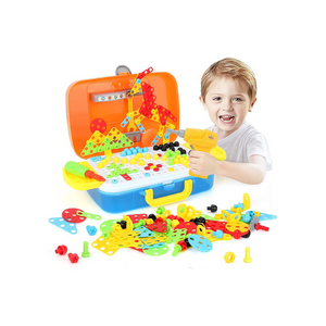 Electric Drill Puzzle Set STEM Learning Toy