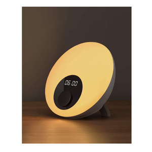 White Noise Machine Table Lamp And Clock