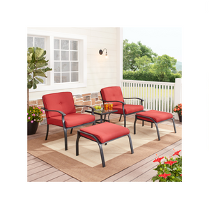 5-Piece Outdoor Patio Leisure Set (3 Colors)