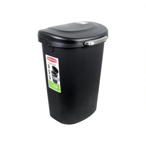 13-Gallon Rubbermaid Touch-Top Wastebasket