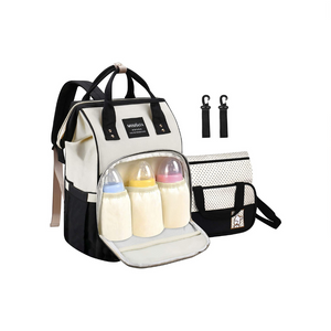 Stylish Multifunction Diaper Bag Backpack
