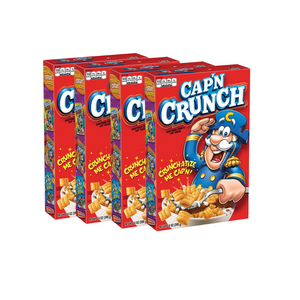4 Boxes Of Cap'n Crunch Breakfast Cereal (OU-D)