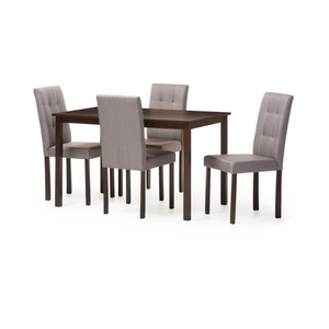 5-Piece Upholstered Dining Set