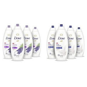 4 Bottles Of Dove Body Wash On Sale