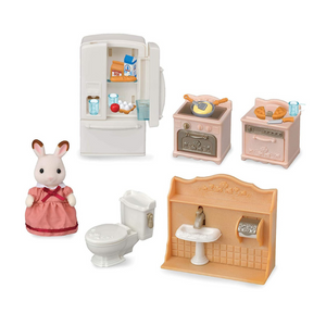 Calico Critters Playful Starter Furniture Set With Figure
