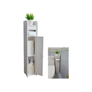Bathroom Storage Corner Floor Cabinet with Doors