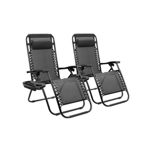 Set Of 2 Zero Gravity Chairs