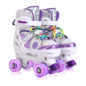 Kids Roller Skates with All Wheels Light Up