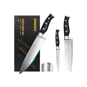 Set Of 3 Ultra Sharp Kitchen Knives
