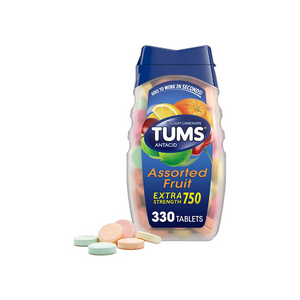 330 TUMS Extra Strength Antacid Tablets