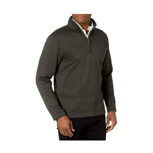 Van Heusen Men's Long Sleeve 1/4 Zip Soft Fleece Sweater