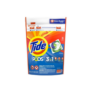 35 Tide PODS Liquid Laundry Detergent Pacs