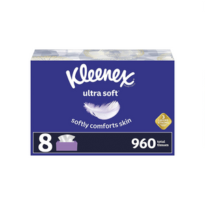 16 Kleenex Ultra Soft Facial Tissues