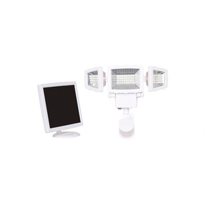 2000 Lumen Triple Head Solar Security Light