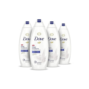 4 Bottles Of Dove Body Wash (7 Styles)