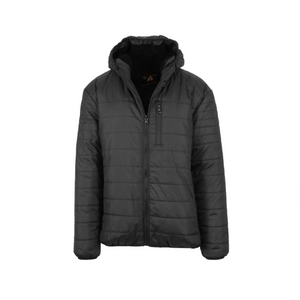 Men's Sherpa-Lined Hooded Puffer Jacket (4 Colors)