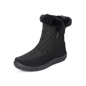 Women's Slip On Fur Lined Zipper Snow Boots (6 Colors)