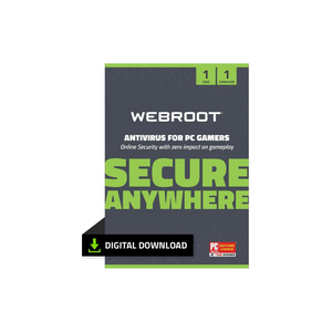 Webroot Antivirus Protection and Internet Security Software for PC Gamers