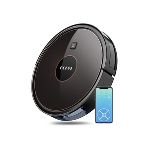 GOOVI Robot Vacuum, 1600PA Robotic Vacuum Cleaner with Wi-Fi, Super-Thin