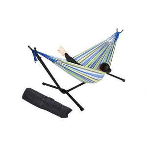 Hammock With Steel Stand And Bag