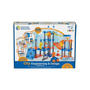 Learning Resources City Engineering And Design STEM Building Set
