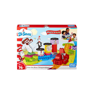 76-Piece Mega Bloks Dr. Seuss Over the River Thingamajigger Set