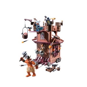 Playmobil Knights Mobile Dwarf Fortress Set