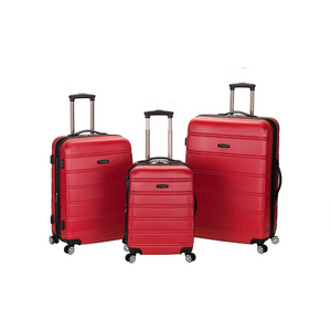 3 Piece Rockland Expandable Luggage Set