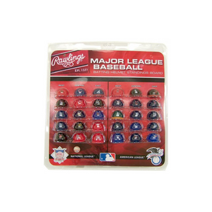 MLB Major League Baseball Deluxe Helmet Standings Board