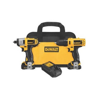 DEWALT 12V MAX Impact Driver And Drill Combo Kit