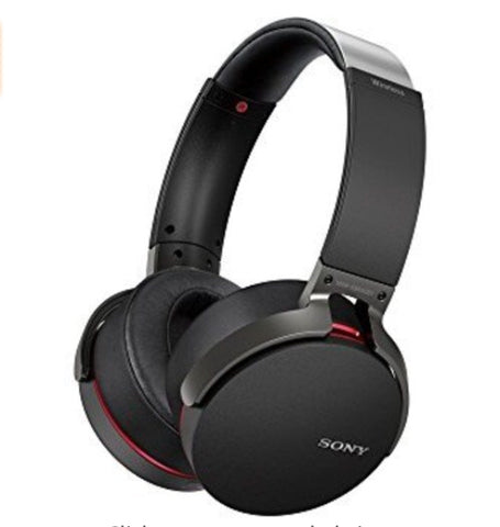 Sony Extra Bass Wireless Headphones with App Control (3 colors)
